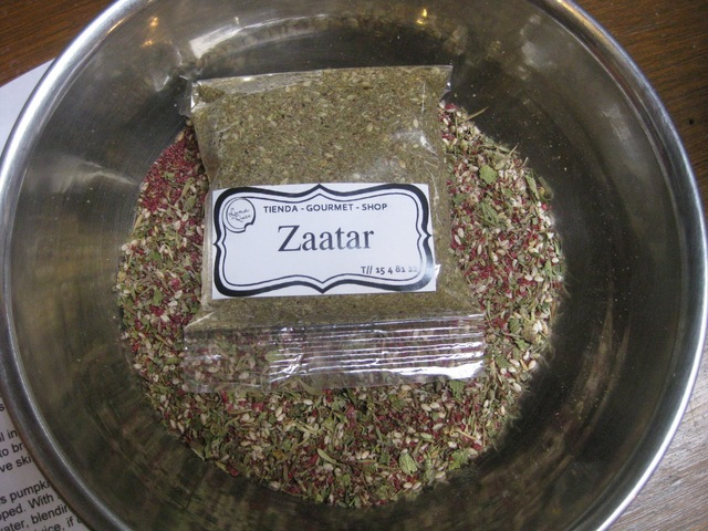 Za'atar:  A Taste of the Middle East