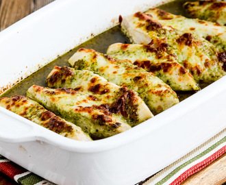 Easy Baked Pesto Chicken