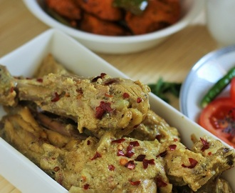 Hyderabadi Dum ka Murgh Salan-Hyderabadi Lagan ka Murgh-Dum Chicken Curry