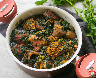 Edikang Ikong Soup - Vegetable Soup