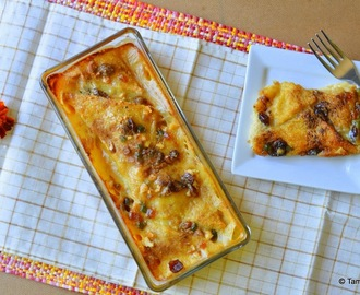 Eggless Bread And Butter Pudding - United Kingdom