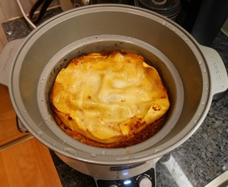 Lasagne i Crock Pot