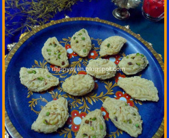 Rituals of Durga Puja and A Traditional Bengali Sweet ~ Narkel Totki or Coconut Sandesh
