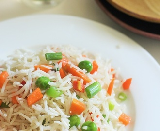 Veg Fried Rice Recipe-Vegetarian Fried Rice Recipe