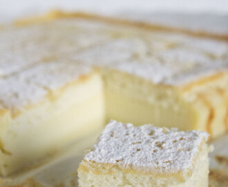 Magic custard cake… la torta magica!
