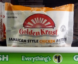 Jamaican Style Chicken Patties - Deal of the Day