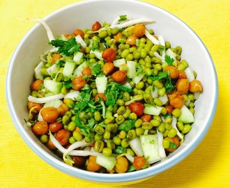 RAW MANGO AND GREEN MOONG SALAD CHAAT