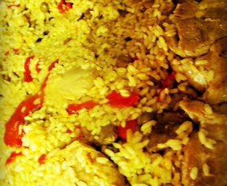 ARROZ CON POLLO A LO AIBONITO (CHICKEN WITH RICE AIBONITO) & BOOK GIVEAWAYS!!