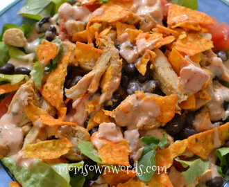 Weight Watchers Recipe Easy Southwest Salad 7 PointsPlus