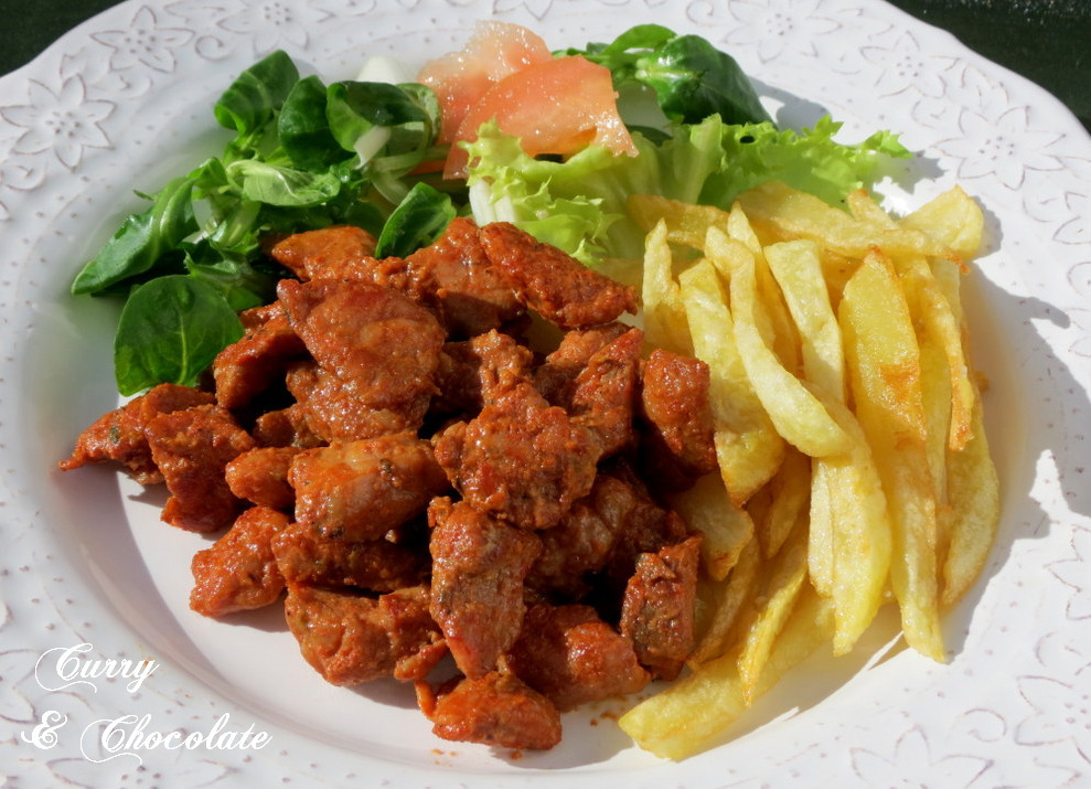 Picadillo de cerdo al estilo Benedicta - Spanish marinated spicy pork