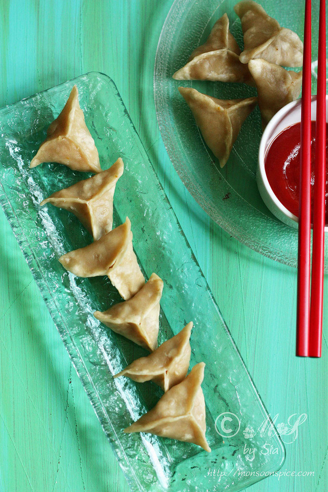 Whole Wheat Tibetian Vegetable Momo Recipe | Step by Step Recipe for Veg Momos