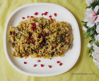Parsley and Chana Rice – Flavor Packed Recipe