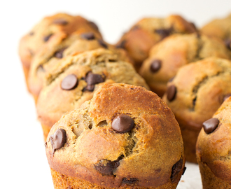 Muffins Veganos con Chips de Chocolate