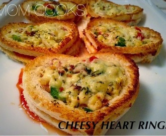 CHEESY HEART RINGS