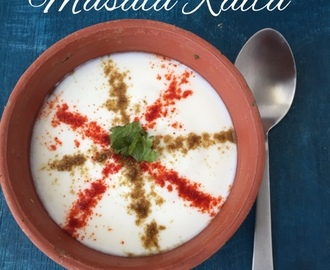 Masala Raita | Easy Yoghurt Dip for Biryani | How to make Masala Raita| Stepwise pictures