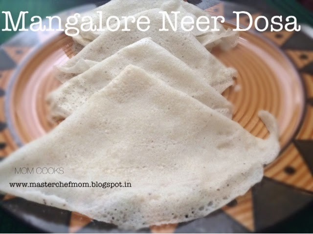 NEER DOSA ( Gluten free recipe - INSTANT Rice and Coconut Crepes)