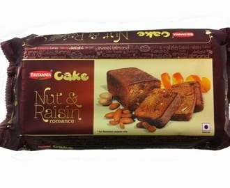 Britannia Nuts and Raisins Romance Cake- Review