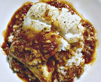 Roasted Icelandic Creole Cod ♥ One pan - thirty minute fish for two