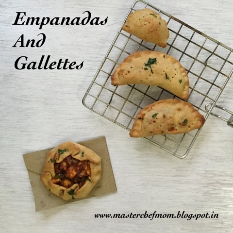 Empanadas and Gallettes | How to make Empanadas and Gallettes fromScratch | Eggless Recipe | Stepwise Pictures