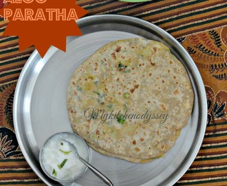 Aloo paratha/Kids lunchBox recipe