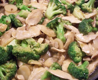 CHINESE-STYLE CHICKEN WITH VEGETABLES