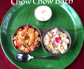 Navratri Special CHOW CHOW BATH | Navratri Special Recipe #3 | Navratri Fasting Menu | How to cook for Navratri Vrat | Stepwise Pictures