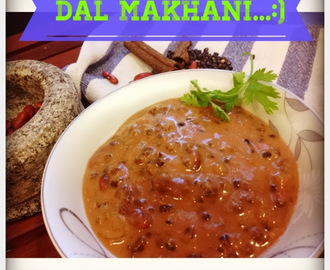 +BUTTERED LENTILS CURRY / DAL MAKHANI RECIPE: