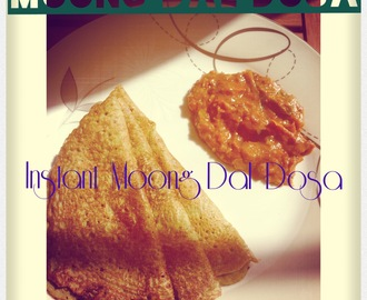 +Instant Moong Dal Dosa/Chilla/Crepe..;)