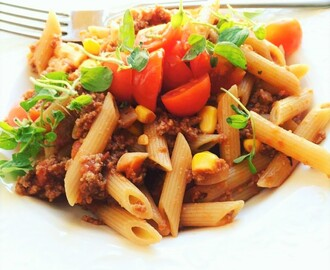 Pasta bolognese m/ Soy4You <3 Meatfree monday