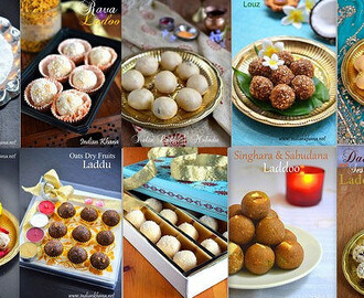 10 Easy Ladoo (Laddu) Recipes | Diwali Sweets Recipes