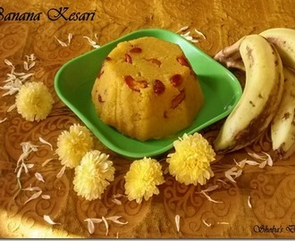 Banana Kesari–Navarathri Recipes(Day 5)