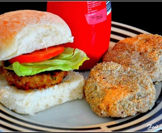 Homemade Chicken Burger Patties