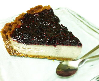 blueberry quark cheesecake