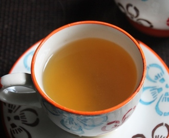 Mint and Ginger Tea Recipe - Hot Ginger & Mint Tea Recipe - Digestion Tea