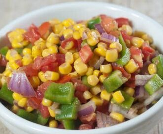 Sweet Corn Capsicum Salad