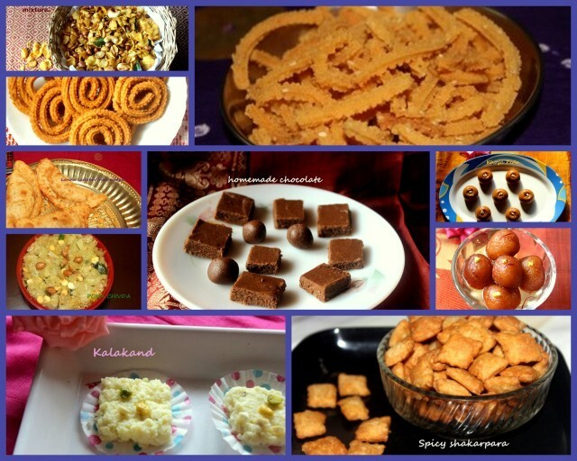 Diwali sweets and snacks recipes – diwali recipes  collection 2015