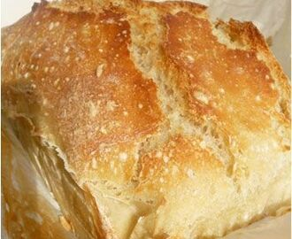 Pain sans pétrissage #2 : no knead bread, even faster