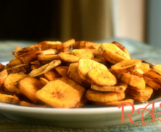 Homemade Banana Chips Recipe