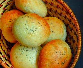Eggless Burger Buns/Eggless Hamburger Buns