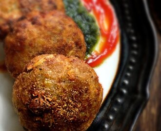 Aloo Bread Tikki (Potato Bread Cutlets)