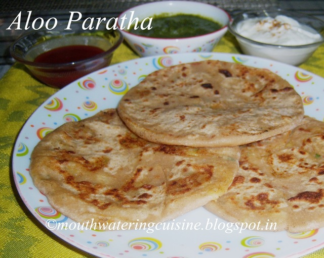 Aloo Paratha -- How to make Aloo Paratha -- Aloo Paratha Recipe