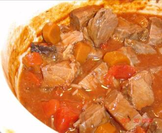 Beef and Carrot Stew (Crock Pot)