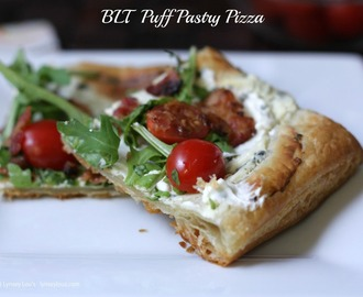 BLT Puff Pastry Pizza