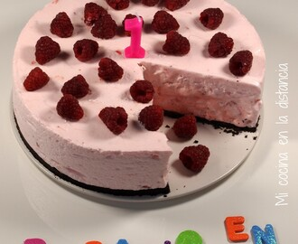 Tarta helada Nube de fresa (Strawberry Cloud Cake)