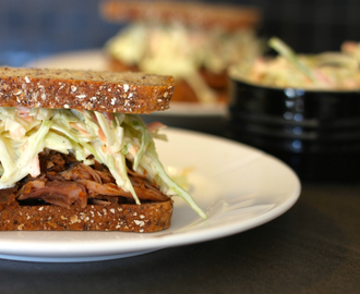 LAVKARBO: Pulled pork sandwich