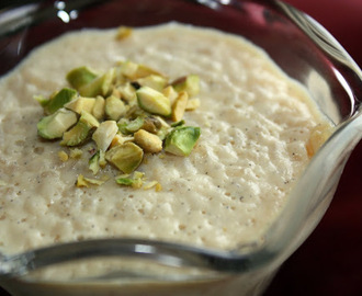 Badam Phirni with Kheer