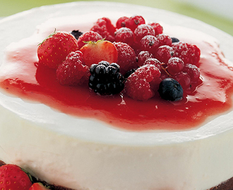 Cheesecake ai frutti di bosco da Philadelphia.it