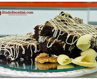 Brownie Light sem Farinha