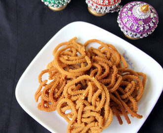 Thinai Murukku - Foxtail Millet Murukku - Snack recipes - Deepavali recipes - Diwali recipes