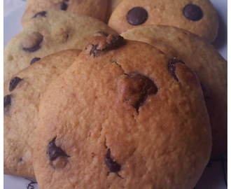 Chocolate chip cookies / Bolachas com pepitas de chocolate